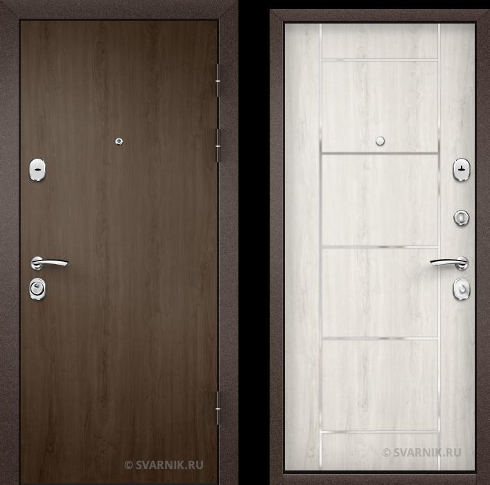Дверь входная внутренняя уличная ламинат - ламинат
