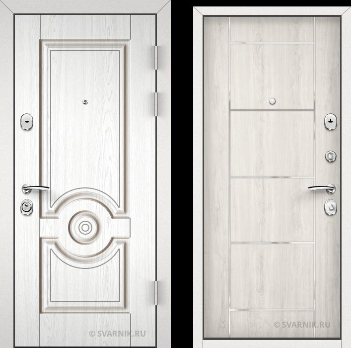 Дверь входная утепленная уличная МДФ - шпон