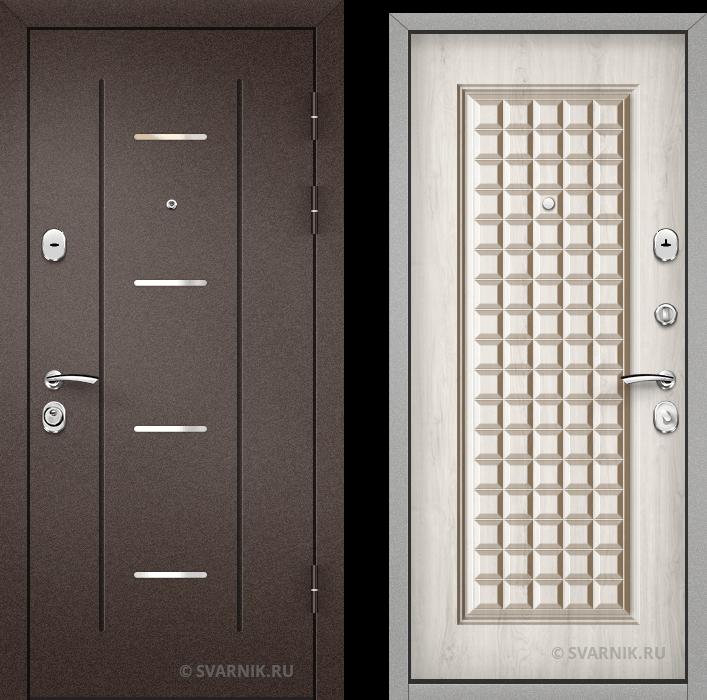 Дверь входная наружная в офис порошковая - винорит
