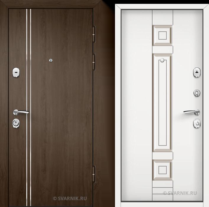 Дверь входная наружная в офис МДФ - МДФ
