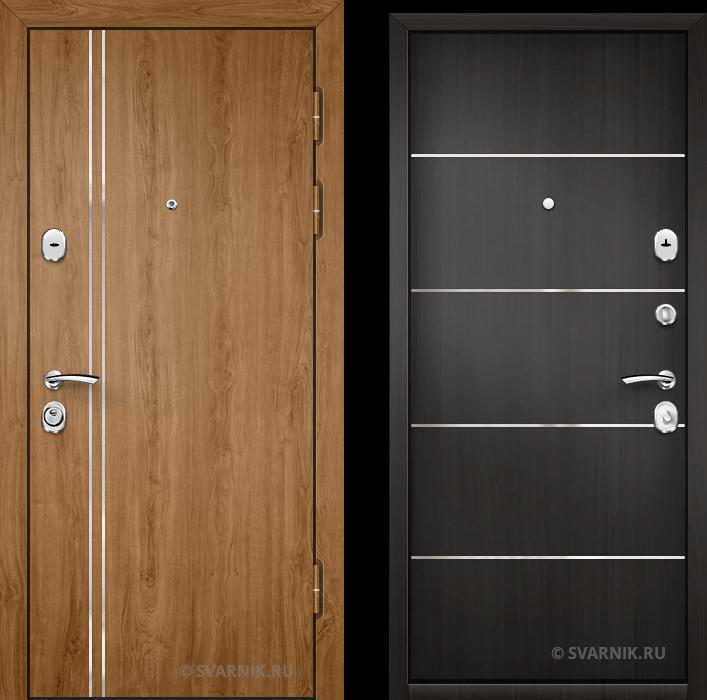 Дверь входная утепленная на дачу винорит - ламинат