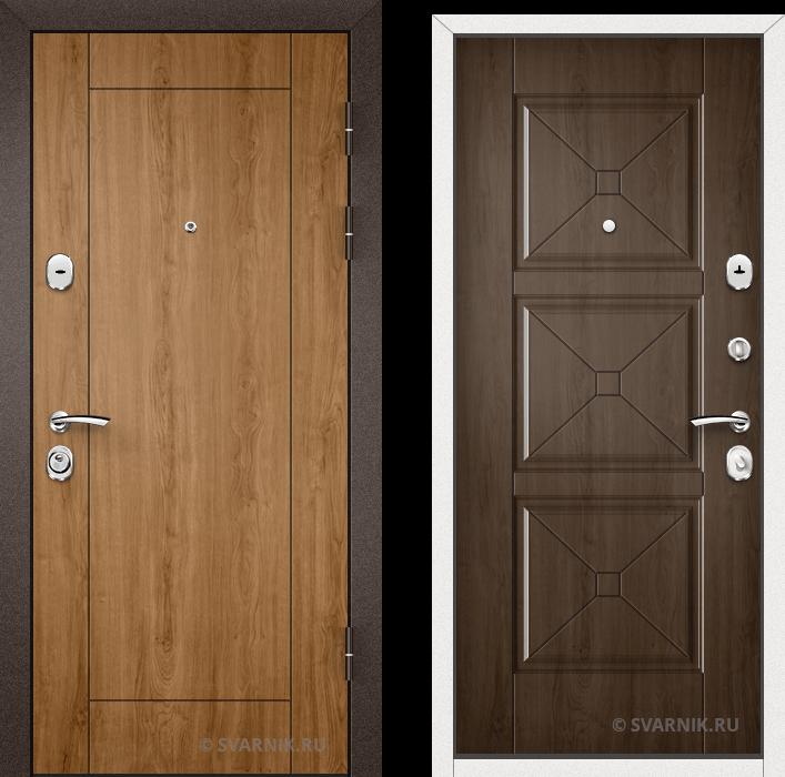 Дверь входная утепленная на дачу винорит - массив
