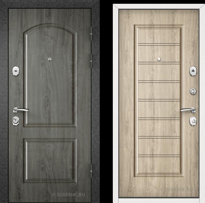 Дверь входная утепленная на дачу МДФ - винорит
