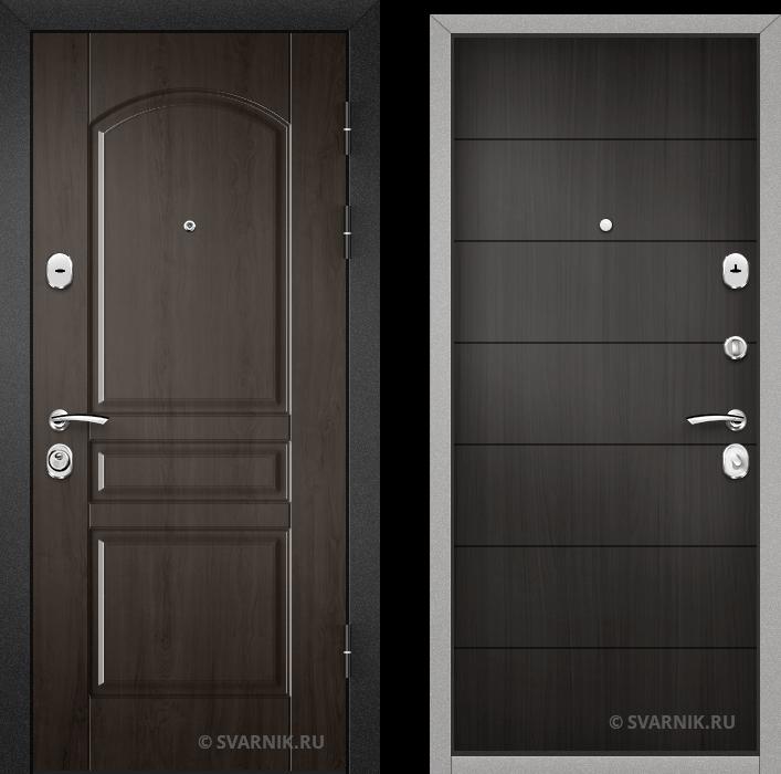Дверь входная наружная на дачу массив - винорит