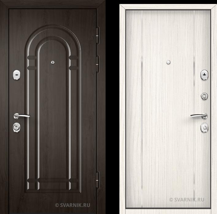 Дверь входная наружная в коттедж массив - винорит