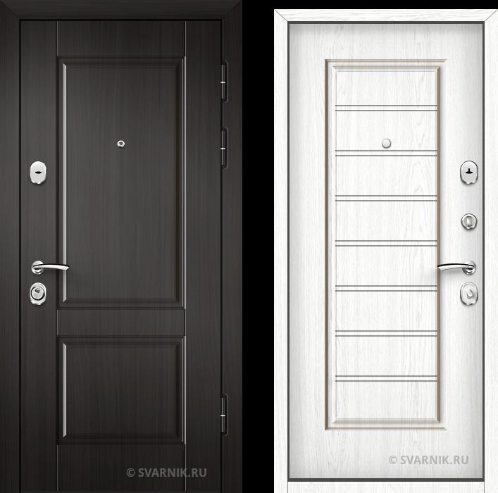 Дверь входная наружная в офис МДФ - винорит