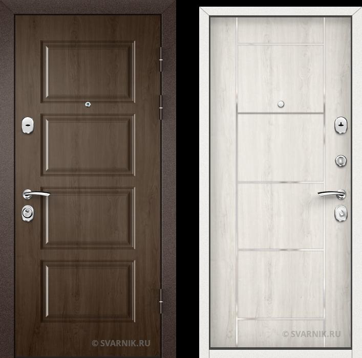 Дверь входная наружная в офис винорит - ламинат