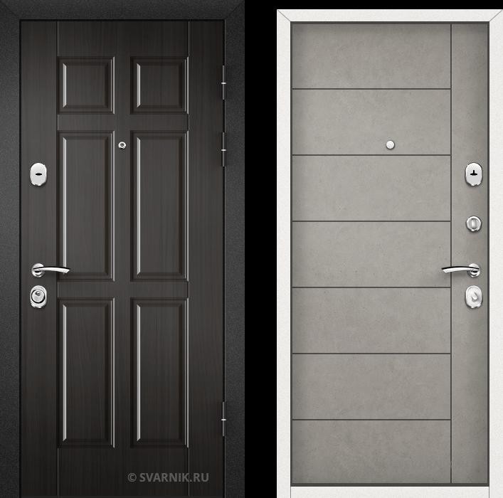 Дверь входная наружная на дачу МДФ - МДФ